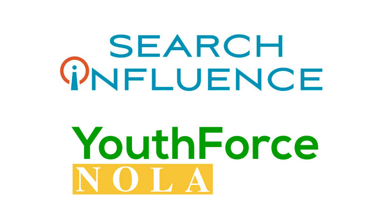 6 High School Interns Join the Search Influence Team as Part of YouthForce NOLA Partnership