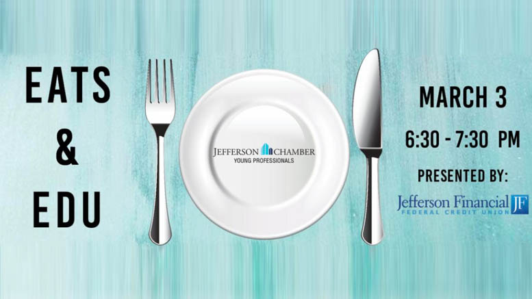 Virtual Eats & Edu. Pasta Party by Jefferson Chamber Young Professionals and Nor-Joe Imports