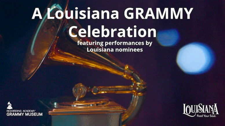 Lt. Governor Billy Nungesser and Louisiana Office of Tourism Host Virtual GRAMMY Celebration
