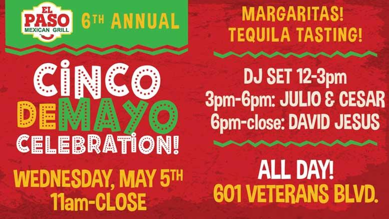 El Paso Metairie to present 6th Annual Cinco de Mayo Celebration