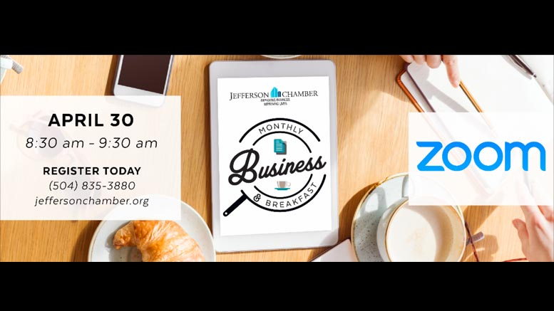 Rise & Shine with the Jefferson Chamber of Commerce for Networking on April 30th