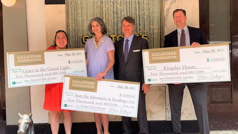 Galatoire Foundation Presents Local Nonprofits with $39,000
