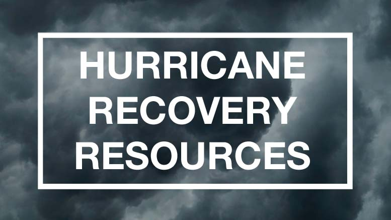 List of Hurricane Recovery Resources for Businesses and General Use